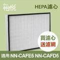 【怡悅HEPA濾心】(兩組賣場)適用於TOSHIBA 東芝空氣清淨機 NN-CAFE5 NN-CAFE5/NN-CAFD5