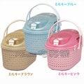 ☆日本IRIS【MPC-450】藤紋上開式提籃,新色到貨 共有4色可選