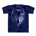 『摩達客』< 預購 (大尺碼)美國進口【The Mountain】自然純棉系列月狼凝視 T恤