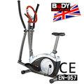 【BODY SCULPTURE】BE-6515D 數位交叉訓練機(安規認證)推薦哪裡買C016-6515室內健身車室內踏車兩用健身車.手足健身車另售飛輪健身車推薦