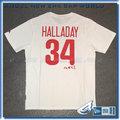 【ANGEL NEW ERA】MLB Majestic 費城費城人隊 HALLADAY 哈勒戴 背號短T 白 6030245-800