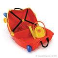 英國Trunki,世界首創超可愛多用途可乘坐趣緻兒童行李箱登機箱豪華版---新款超可愛消防車現貨到,限量,買再送