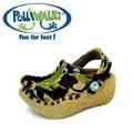 Polliwalks童鞋-鱷魚(迷彩綠)