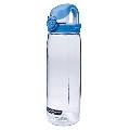 【美國 NALGENE】750cc OTF運動型多功能水壺.運動水壺.休閒壼.隨身瓶.水瓶/新材質Tritan copolyester/透明-藍蓋 5565-2024