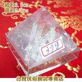 白水晶金字塔--底5x5公分