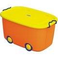 ★兒童收納箱★ 聯府 大寶滑輪整理箱(藍紅/橘綠) KE660 KE-660