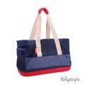 【來店自取送$30】依比呀呀輕IBIYAYA網布托特包FC1526-B(海軍藍)寵物背包/背袋/兔子提袋