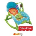 Malldj親子購物網 - 費雪牌 Fisher-Price  可愛動物可攜式兩用安撫躺椅 #PB05008092811000