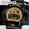 CASIO 時計屋 卡西歐手錶 G-SHOCK DW-6900CB-1DS 電子錶 狂野黑金 保固 附發票