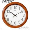 日本品牌-東方ORIENT-W838簡約木框時鐘/時尚掛鐘