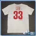 【ANGEL NEW ERA】MLB Majestic 費城費城人 LEE 背號短T 白 6130233-800