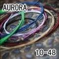 【小新的吉他館】AURORA 美國進口黑色民謠弦(10-48)