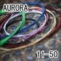 【小新的吉他館】AURORA 美國進口黑色民謠弦(11-50)