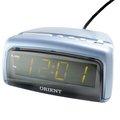 AD-001 ORIENT 鬧鐘(藍) /插電式鬧鐘 /電子式鬧鐘/電池備用式鬧鐘