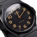 MQ-24-1B2LDF CASIO 手錶 黑色 33mm 膠帶 34mm 男錶 女錶 時間玩家 MQ-24-1B2