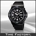 【時間工廠】全新公司貨 CASIO DIVER LOOK 潛水風膠帶腕錶 MRW-200H-1B2