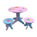 (2122)EMC動物家族圓桌椅(1桌2椅)