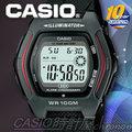 CASIO 時計屋 卡西歐手錶 HDD-600-1A 當兵推薦運動錶 電子錶 防水100米 保固 含稅