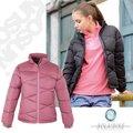 【波萊迪克bolaidike】 女 單件式水鳥羽絨外套.夾克.羽絨衣.羽毛衣.保暖外套 /防潑水/ 玫瑰紫、黑 TF027 B