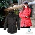 【波萊迪克 Bolaidike】 女 單件式保暖透氣羽絨外套.夾克.羽絨衣.保暖外套 /防潑水 紅、黑 TF029 (非SAMLIX)