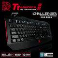 曜越 Tt eSports Challenger 挑戰者 電競專用鍵盤