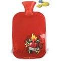 【卡樂登】保固二年 德國原裝Fashy 火紅熱情圖騰 注水式熱水袋/冰水袋 2.0L