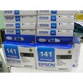 EPSON T141 黑色原廠墨水匣ME320/ME340/82WD/900WD/940FW/960FWD/WF3521/WF-3541/WF-7011/WF7511/WF-7521