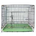 台灣製造》 3尺雙門靜電黑體折疊式居家狗籠