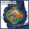 CASIO 時計屋 卡西歐 G-SHOCK GA-110FC-2A 多層次齒輪造型 抗磁 多功能雙顯錶 附發票 保固