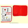 SNOOPY(史努比) 母子手帳本/旅行證照夾/愛心L 4901610887752