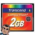 【現貨】創見 Transcend 133X CF 2G / 2GB 記憶卡 (終身保固 )