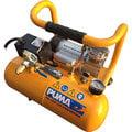 @UD工具網@台灣製造 PUMA製美工模型用超靜音4公升附桶式空壓機1/4HP 無油免保養 多用途電子吹塵/噴筆彩繪/儀器輸出 工具