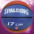 SPALGING斯伯丁NBA林書豪Jeremy LIN 17 球員籃球