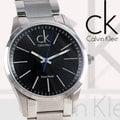 CK手錶 Calvin Klein 國隆 K2241102 黑色鋼帶CK經典LOGO男錶 隋棠、宥勝攜手代言 保固 開發票