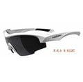 【凹凸眼鏡】ADHOC-K-NIGHT-W 軍用級運動PZ偏光太陽眼鏡(白色)~加贈夜視鏡片(黃片)~~六期零利率~
