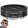 CANON EF 40mm F/2.8 STM 定焦鏡頭 (40 2.8 彩虹公司貨)