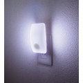 日本朝日電器 人體/明暗感應長型LED小夜燈(白光/插電式) -PM-L230(W)