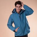 【JORDON】男款GORE-TEX PacLite超輕防水透氣外套+PRIMALOFT保暖夾克 二合一外套 1093