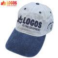 丹大戶外用品 【 LOGOS】 日本品牌 中性CAP休閒鴨舌帽/運動帽/棒球帽/遮陽帽/T帽/釣魚帽/卡車帽/潮流帽 #T001 米白藍