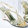 【ALicE】Y075-3奢華貴氣感 多寶石鑲飾涼鞋-金