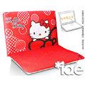 iae創百市集:Hello Kitty KT【SKC-343 紅蝴蝶結】晶彩多功能NB平板電腦袋 防塵套 三麗鷗授權