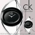 瑞士 CK手錶 Calvin Klein女錶 國隆 K1A23102(小)/K1A23602(中) 魔幻之眼雙曲線 時尚手鐲簍空 保固 發票