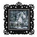 【筆坊】LADONNA Bridal系列哥德式風格 幻黑魔鏡4X6結婚相框(MJ55-P)