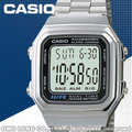 CASIO 手錶專賣店 國隆 卡西歐 A178WA-1A 男錶 電子錶 壓克力強化鏡面 LED背光照明 不銹鋼錶帶