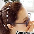 【AnnaSofia】星空點點奢鑽 韓式髮箍