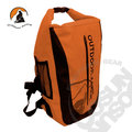 【Outdoor Active】暢銷款 WaterProof 500D 40L 專業壓縮防水背包/三用防水袋(雙肩式)隧道式散熱.適溯溪.浮潛.水上活動 (亮橘) OA-WP01