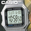 CASIO 時計 手錶專賣店 卡西歐 A178WA 男錶 電子錶 壓克力強化鏡面 LED背光照明 不銹鋼錶帶