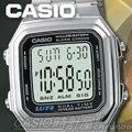 CASIO 時計 手錶專賣店 卡西歐 A178WA-1A 男錶 電子錶 壓克力強化鏡面 LED背光照明 不銹鋼錶帶