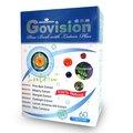 康心優示康 Govision嚴選專利紐西蘭松樹皮萃取物、山桑子、小米草、枸杞及金盞草所含的葉黃素、玉米黃質、消旋玉米黃質及β- 胡蘿蔔素