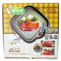[易購樂] 韓國Hanaro new high新一代★輕便型排油、不沾鍋烤盤(方型34cm)